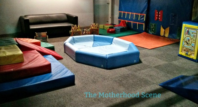A view of the infant play space at Joeys World Playground