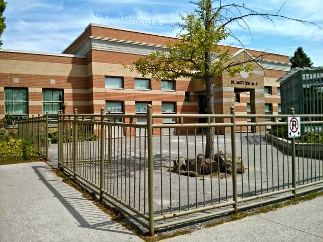 A view from the street in front of Whitby St. Matthew YMCA Centre