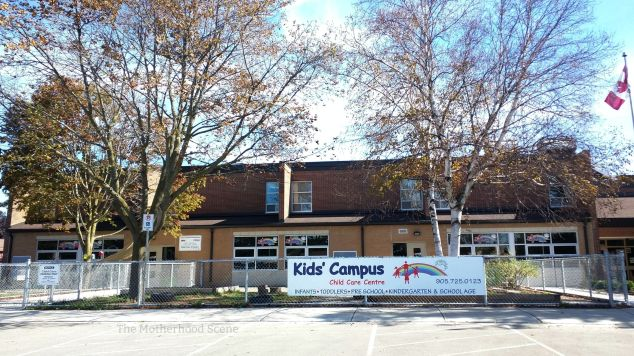 The main entrance to the Kids Campus Whitby